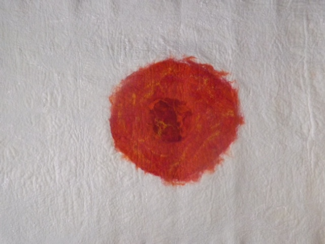 zen doek wit rood 1